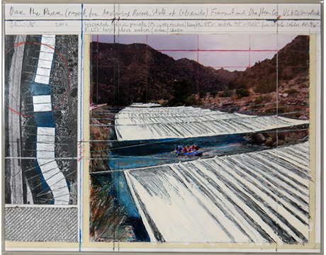 Sobre el Río (Over the River) - Christo,