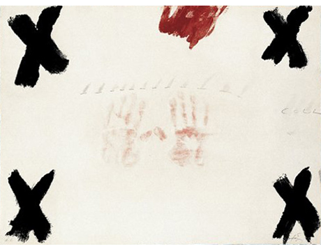 Two Hands (Dues Mans) - Tapies, Antoni