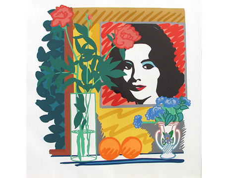 Still Life with Liz - Wesselmann, Tom