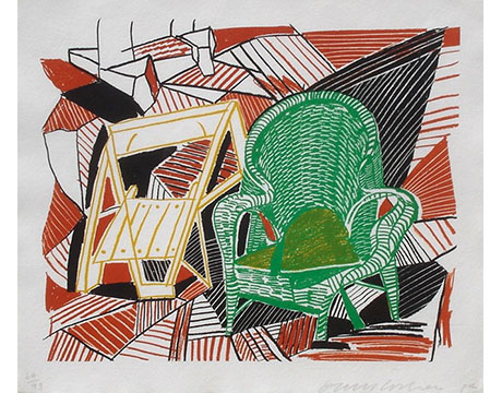 Two Pembroke Studio Chairs - HOCKNEY, DAVID