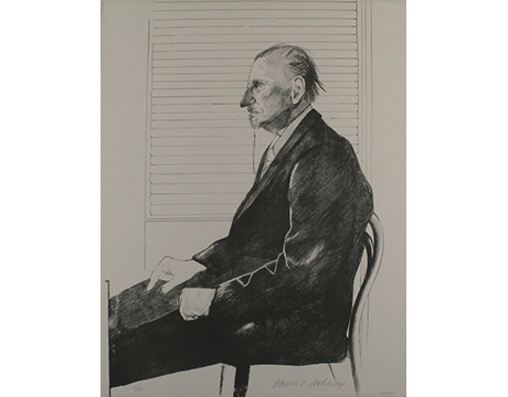 Retrato Felix H. Man - HOCKNEY, DAVID